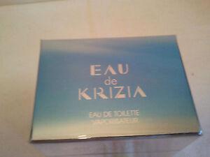 Eau De KRIZIA 30ml EDT Spray Women's Perfume Fragrance BNIB Sealed RARE