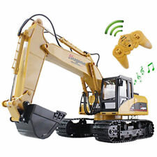 RC Truck Excavator Crawler Remote Control Bulldozer Toy Digger Car Construction