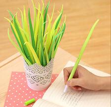Stationery Pen Grass Roller Ball Pen/Gel Pens-0.38mm Black ink School Office Pen