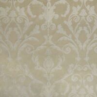 "Damask Upholstery Fabric,Ivory color Traditional Fabric, 56"" wide, sold by yard"