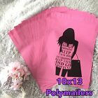 40 Designer Printed Poly Mailers 10X13 Shipping Envelopes Bags SHOPPING GIRL