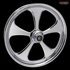 "Harley Davidson 32"" inch Custom Front Wheel ""5 Blade X2"" Chrome"