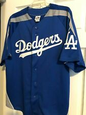 Los Angeles Dodgers Majestic Jersey Size Large