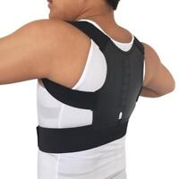 Posture Corrector Women Men Magnetic Adjustable Back Support Brace Shoulder Belt