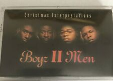 Boyz II Men Christmas Interpretations Audio Cassette Tape '93 R&B Motown Xmas