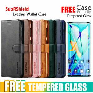 For Huawei P30 Pro P30 Lite Mate 20 Pro Velvet Wallet Leather Case Flip Cover