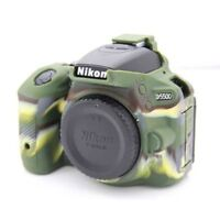 Silicone Camera Body Cover Case Skin For Nikon D5500 D5600 Bag Camouflage