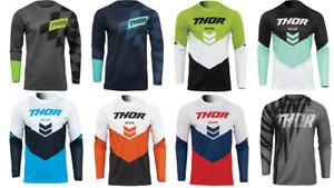 2022 Thor Sector Mens Kids Youth Riding Jersey Shirt Mx Dirt bike Atv Offroad