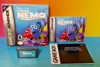 Finding Nemo Disney - Game Boy Advance - Complete Box - Tested Nintendo GBA