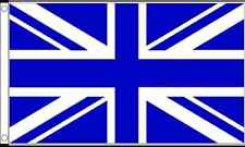 Union Jack Azul Turquí Funeral Funerales Ataúd Cortina Gigante Bandera