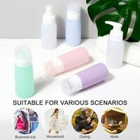 6X Portable Silicone Travel Bottle Packing Carry DIY Tube Containers Shampoo UK