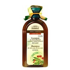 Green Pharmacy Shampoo Oily Scalp and Dry Ends Ginseng Paraben FREE