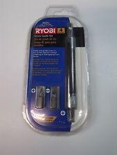 "Ryobi 4-PIECE Drill Bit 5"" SCREW GUIDE Accessory Set NEW"