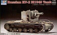 TRUMPETER 1/72 kv-2 Modelo 1940 #07235