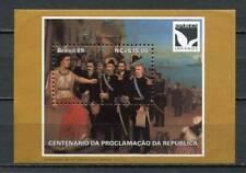 38995 ) BRASIL 1989 MNH** 100 years Republic s/s