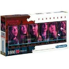 Netflix Stranger Things Jigsaw Panorama Puzzle 1000 piece Clementoni Toy New