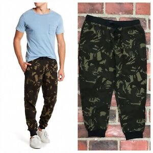 Polo Ralph Lauren Camo Waffle Knit Jogger Lounge Pants Size Large