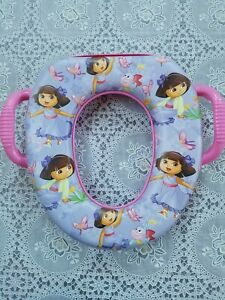 Nickelodeon Dora The Explorer Butterfly Buddies Soft Potty training Seat Ginsey