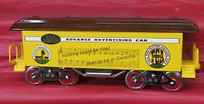 MCCOY STANDARD GAUGE TCA 1987 RALEIGH CONVENTION ADVANCE ADVERTISING CIRCUS CAR