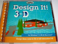 DESIGN IT 3-D - DESIGN SOFTWARE CD-ROM FOR WINDOWS AND MAC - ISBN 0763000744