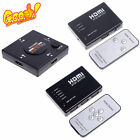 3/5 Port 1080P HDMI Switch Selector Switcher Splitter Hub+Remote for PS3 HDTV TF