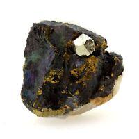 Pyrite sur Chalcopyrite. 198.1 ct. Laguépie, Tarn-et-Garonne, France.