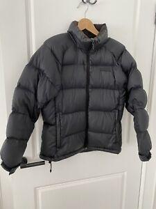 Kathmandu Black Goose Down Lightweight Puffer Jacket Sz 12. Excellent Condition