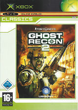 GHOST RECON 2 for Xbox - with box & manual - PAL