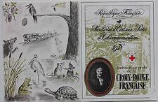 CARNET DE 8 TIMBRES - EMISSION AU PROFIT DE LA CROIX-ROUGE FRANCAISE - 1978