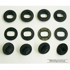 4 x Fußmatten Gummimatten Befestigungen Clips Set oval für VW Golf IV