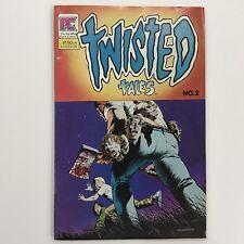 TWISTED TALES # 2  COMIC BOOK VF Pacific Comics 1983 Berni Wrightson: Cover Art