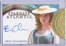 2005 STARGATE ATLANTIS SEASON 1 - AUTOGRAPH Erin Chambers as Sora CASE TOPPER