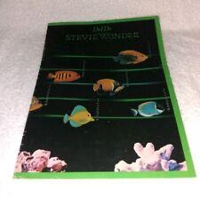 Vintage Sheet Music Do I Do,  Stevie Wonder 1981