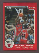1996 Topps 1985 Star RC Retro Chrome Red Refractor Michael Jordan HOF