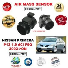 FOR NISSAN PRIMERA P12 1.9 dCi F9Q 2002-ON 6 PIN AIR MASS SENSOR with HOUSING