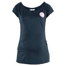 BELLYBUTTON Damen Stillshirt 1686203 Kristy Blau / XS – 2XL / Umstandsmode