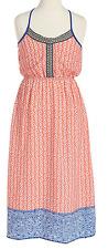 Monteau Big Girls' Coral Maxi Dress, Coral, Size L, MSRP $56