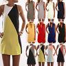 Womens Sleeveless Party Short Mini Dress Ladies Summer Beach Sundress Top Blouse