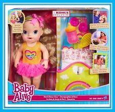 Brand NEW in Box BABY ALIVE Darci's Dance Class Blonde Hair Doll by Hasbro Gift