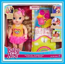 Brand NEW in Box! BABY ALIVE Darci's Dance Class Blonde Hair Doll by Hasbro Gift