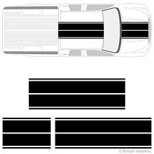 Toyota Tacoma Dual Rally Racing Stripes 3M Vinyl Double Stripe Decals