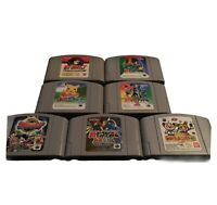 N64 Pokemon Pocket Monsters Lot - Nintendo 64 -Japan Import  -US Seller -7 Games