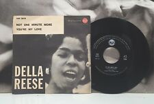 """DELLA REESE - NOT ONE MINUTE MORE / YOU'RE MY LOVE 7"""" EX RCA ITA 1959 45N 0979"""