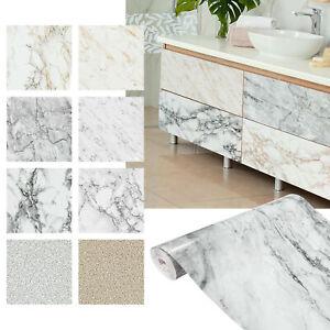 Möbelfolie 7€/m² selbstklebende Folie Stein Granit Marmoroptik Fototapete Küche