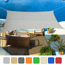 More details for waterproof outdoor shade sail patio suncreen awning garden sun canopy uv block