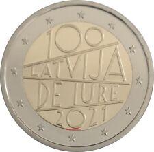 #RM# 2 EURO COMMEMORATIVE LETTONIE 2021 - IURE