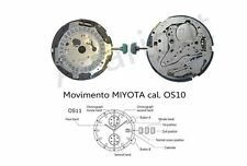 Movimento Miyota 0S10 cronografo quarzo Movement chrono quartz OS10 watch Japan