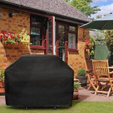 Barbecue Grill Protecteur Couvercle De Gril à Gaz Housse Noir 170x61x117cm
