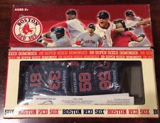 Boston Red Sox. 28 Super Size Dominoes Set