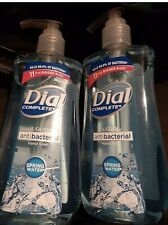2-Pack 11oz Dial Complete Liquid Hand Soap New Kills 99% SPRING WATER Scent